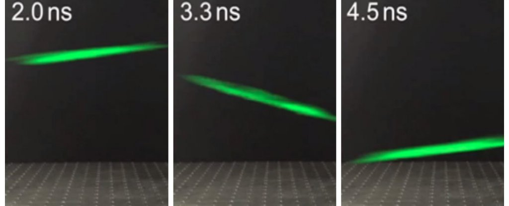 WATCH: This Is The First Video of a Laser Zooming Through Thin Air