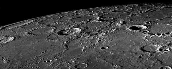 Scientists think they've discovered lava tubes leading to the Moon's polar ice