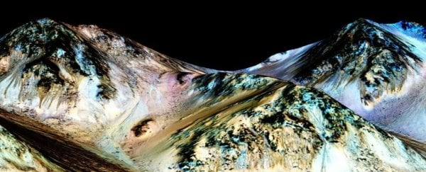 Those signs of liquid water on Mars may not be water after all