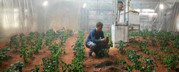 Image result for growing plants on mars