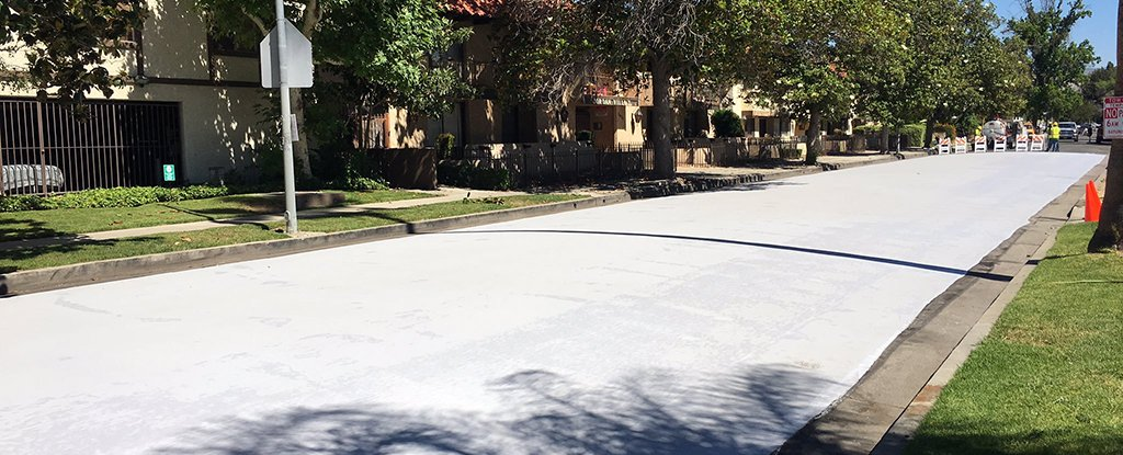 Covering Streets In Cooling Paint Is The New Trick To Deal
