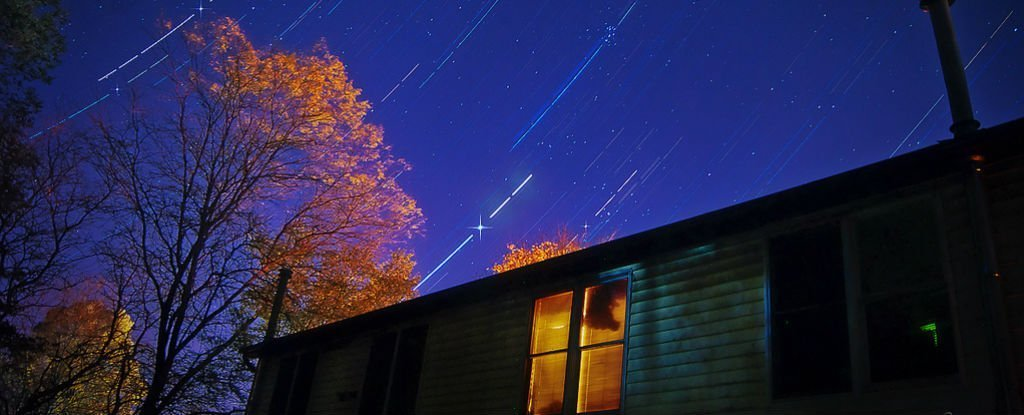 Get ready for a month of meteor showers as we pass through the tail of a comet