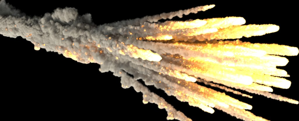 why does it when an asteroid hits earth the explode - photo #35