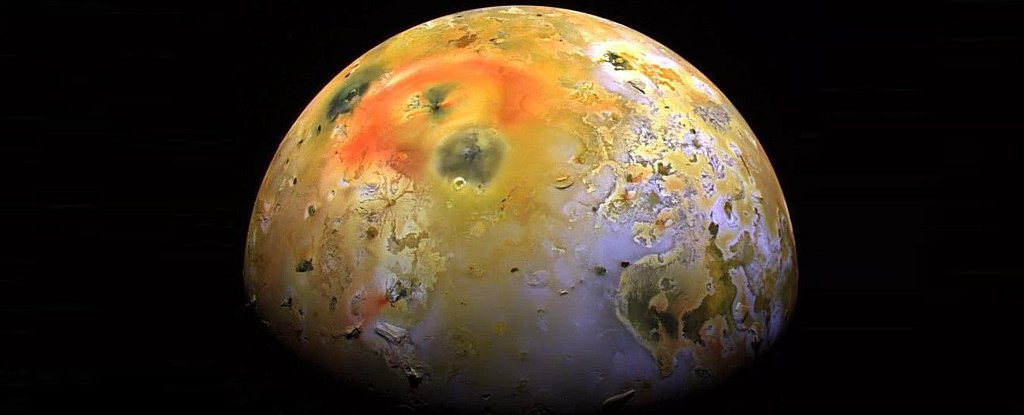 Astronomers Map Gigantic Waves of Lava Flowing Around Io's King of Volcanos