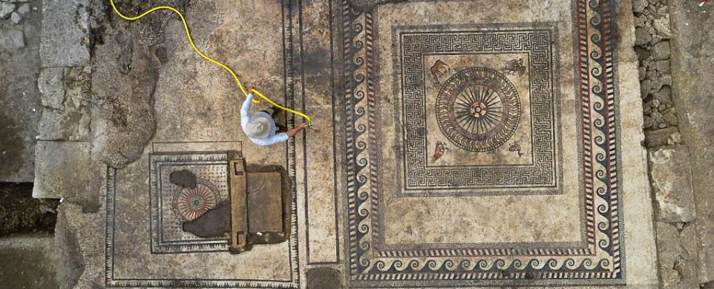These Mysterious Mosaics Reveal The Existence of a Long-Lost Roman City Called Ucetia