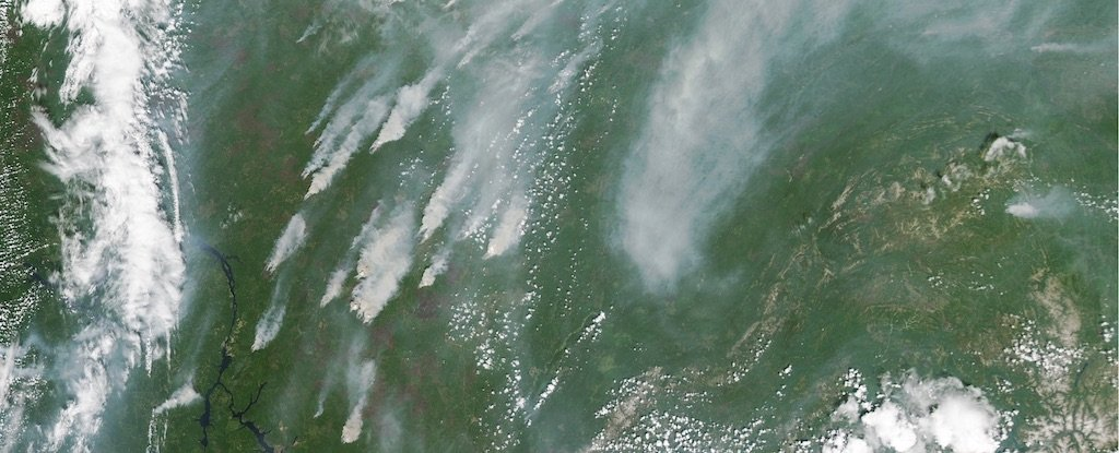 NASA Images Capture Worst Siberian Wildfires in 10,000 Years
