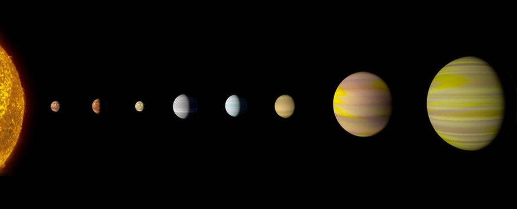 NASA And Google Just Announced They've Found Another Solar System Like Ours