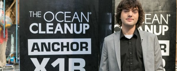 This 22-year-old is launching a controversial plan to clean up the Great Pacific Garbage Patch