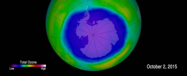 The ozone hole is slowly healing - but this chemical could delay its recovery by decades