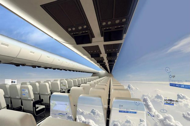 New Windowless Planes Set to Fly Within a Decade