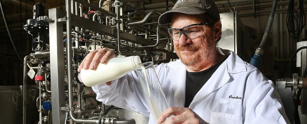 Scientists have created milk that lasts for 9 weeks without going off
