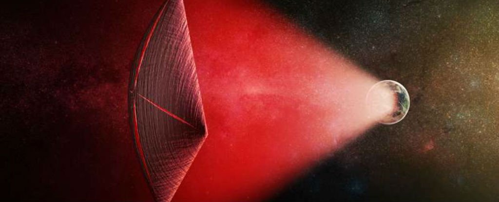 Harvard Physicists Just Proposed That Mystery Radio Bursts Are Powering Alien Spaceships