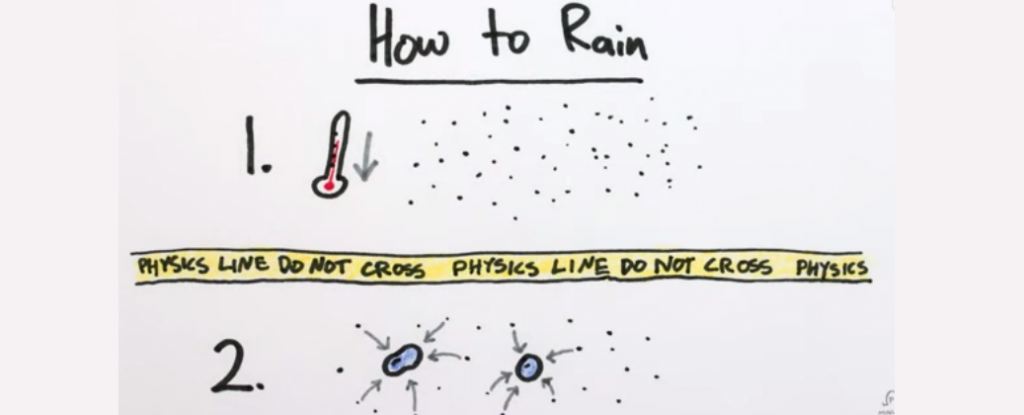 WATCH: Here's Why Raindrops Are Mathematically Impossible