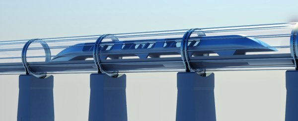 Engineers just submitted an incredible proposal to turn the US border wall into a hyperloop