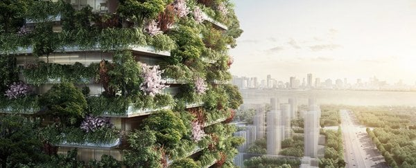 China is set to build this smog-eating 'Forest City' filled with tree-covered skyscrapers