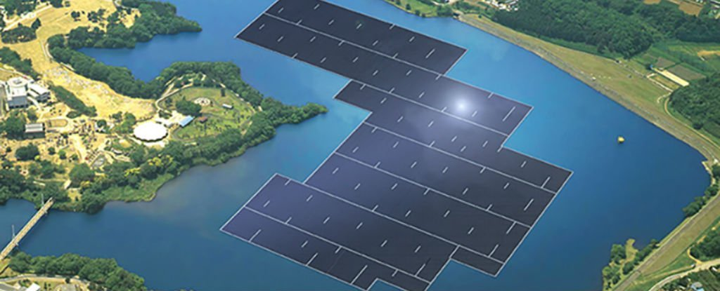 The World S Largest Floating Solar Power Plant Is Being