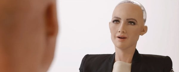 World's first AI citizen in Saudi Arabia is now calling for women's rights