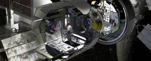 NASA is building a prototype deep space habitat - from an old cargo container