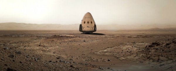 SpaceX announces it will send a spacecraft to Mars by 2018