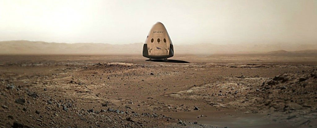 WATCH: Here's How SpaceX Plans to Land on Mars in 2018