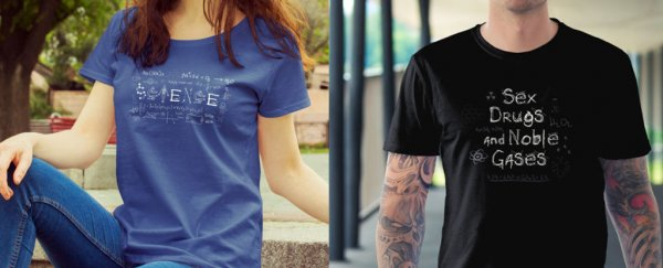 ScienceAlert Deal: We've just released these cool new science T-shirts!