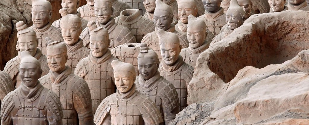 New Evidence Could Rewrite The History of China's Terracotta Warriors