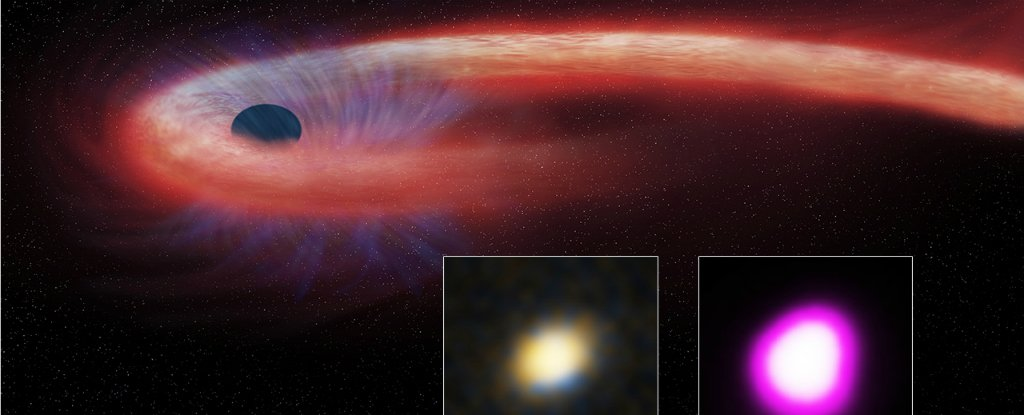 Astronomers Have Spotted a Black Hole So Ravenous, It's Pushing The Limits of Physics