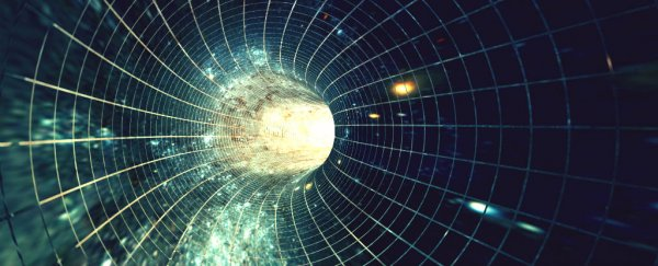 Physicists just came up with a mathematical model for a viable time machine