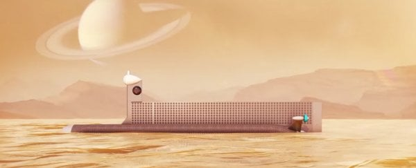 NASA plans to send an autonomous submarine to explore Titan's oceans
