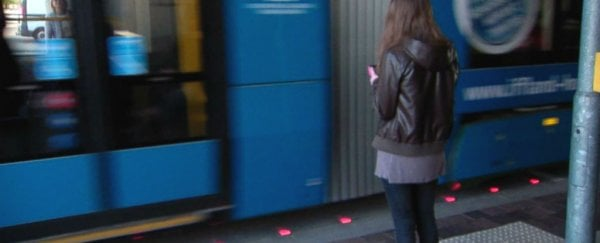 This German city is installing traffic lights in the pavement for smartphone addicts