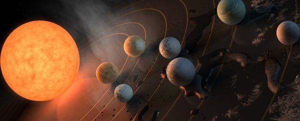 New TRAPPIST-1 Research Questions How We Think About That Habitable Zone We're Searching For