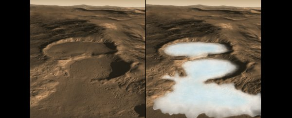 It seems more likely than ever that Mars once had both liquid water and surface ice
