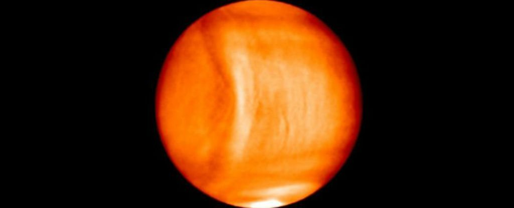 Astronomers have spotted a massive 'bulge' in Venus' atmosphere