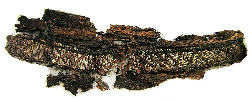 The Word 'Allah' Has Been Discovered Woven Into Viking Burial Clothes