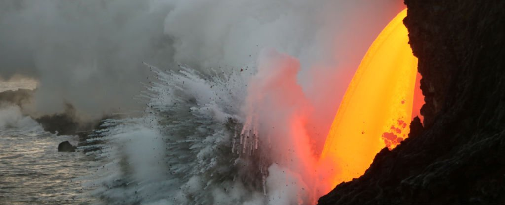 WATCH: Sea Cliffs Just Collapsed in on This Hawaii's Ridiculous 'Lava Tube'