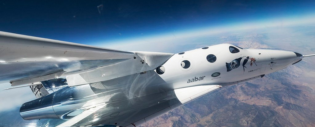 Virgin Galactic unveils its new spaceplane, VSS Unity