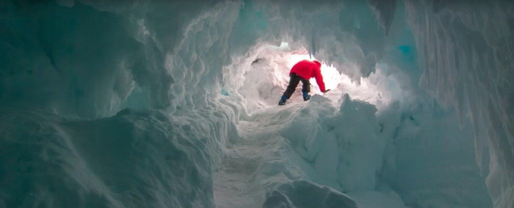 Scientists Are Investigating Warm Caves Under Antarctica Which Could Support Secret Life