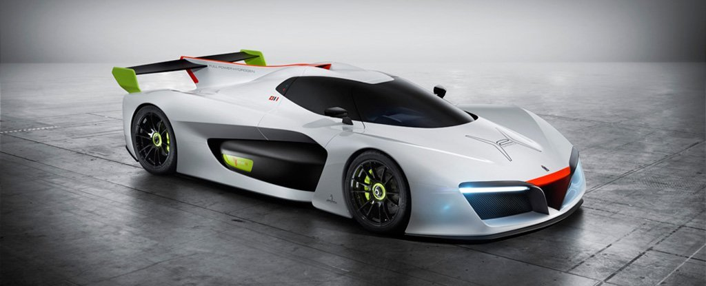 This Is The Fastest Hydrogen Powered Car Ever Designed