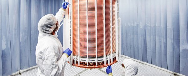 The world's best dark matter detector just delivered its first results