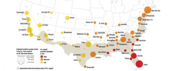 This Map Estimates Which US Cities Face The Highest Risk