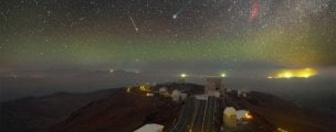 Six celestial phenomena are captured in this incredible image