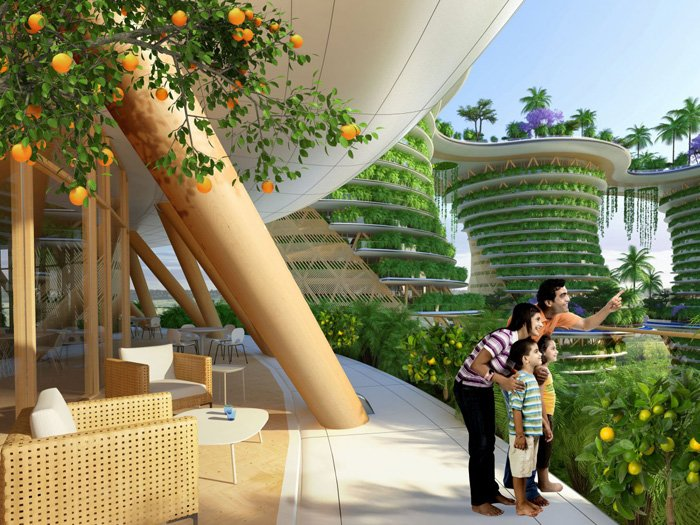 This Futuristic Vertical Village Is Like A Jungle