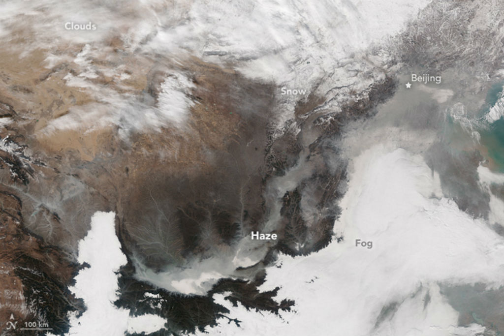 This Image Shot From Space Shows The Full Extent Of China