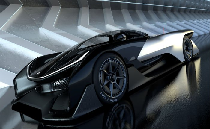 Faraday Future Car >> This New 1,000-Horsepower Electric Concept 'Hypercar' Is ...