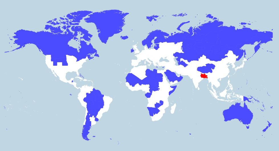 World Population Map