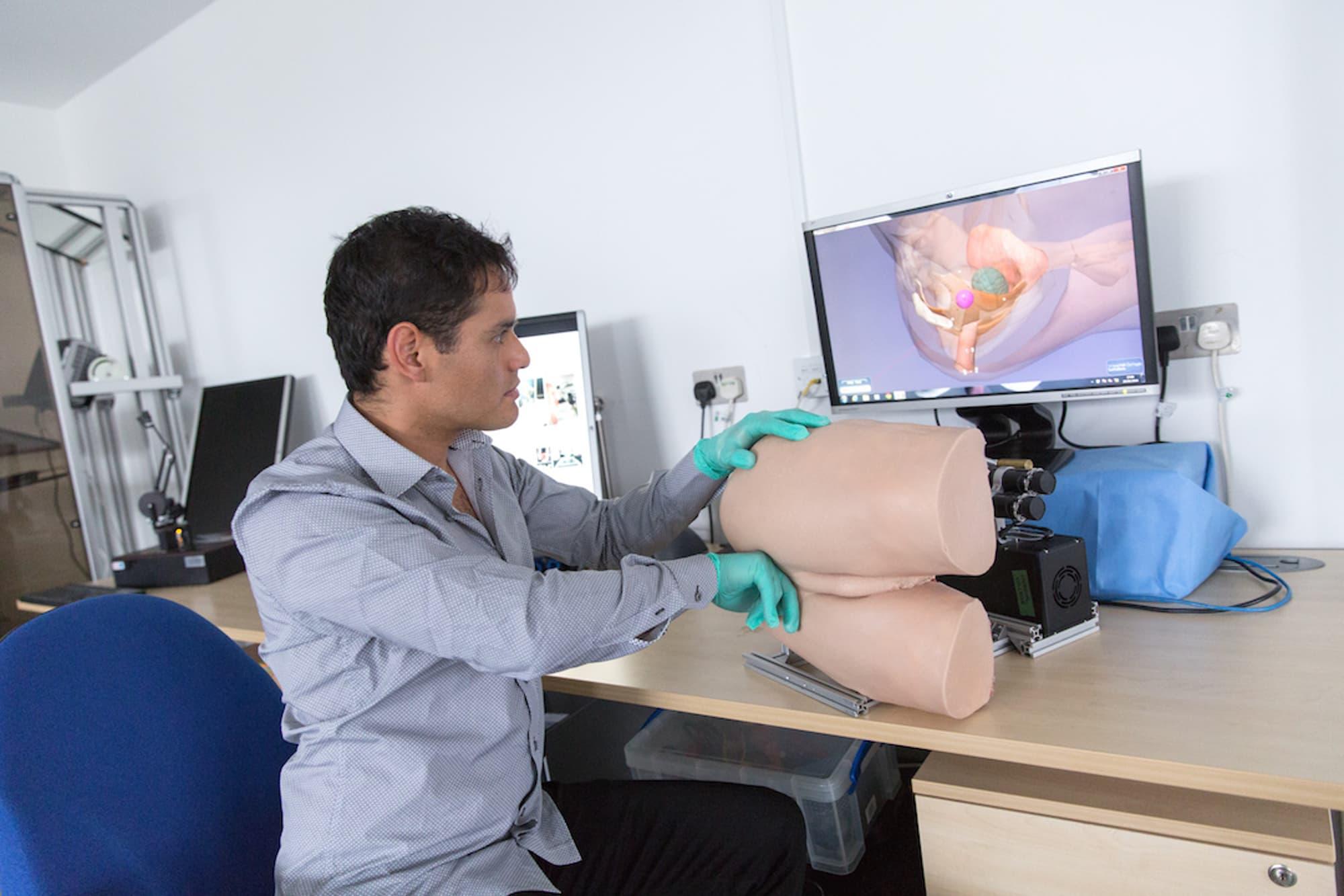 Prostate Exam This robotic re...