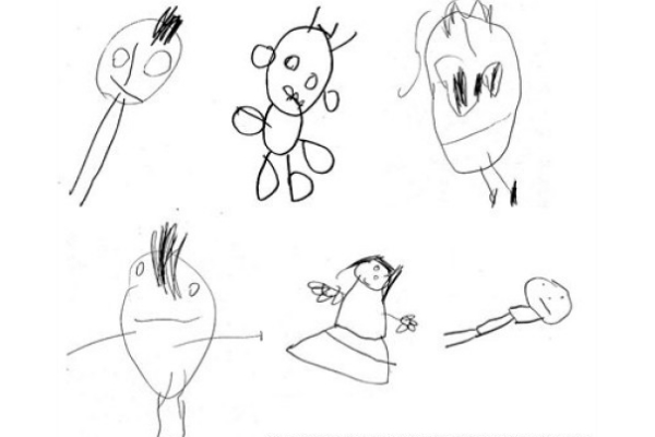 Children's drawings indicate their future intelligence