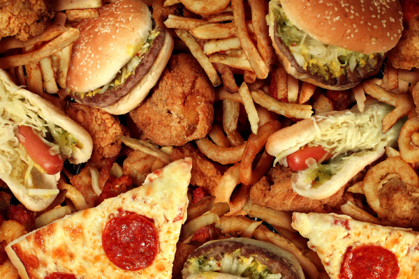 Eating junk food triggers a cycle of unhealthy food choices