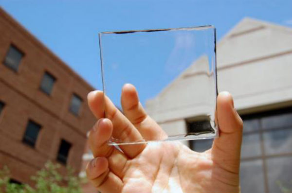 New transparent solar cells can be used on windows, smartphone screens