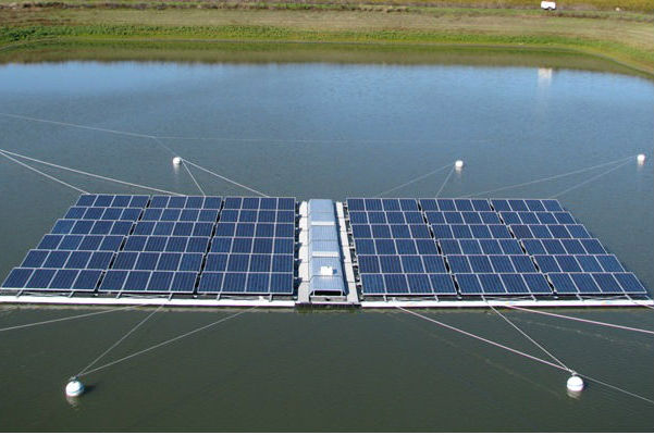 India Is Building A Massive Floating Solar Power Plant